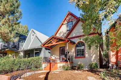 Denver Single Family Home Under Contract: 3435 West 34th Avenue