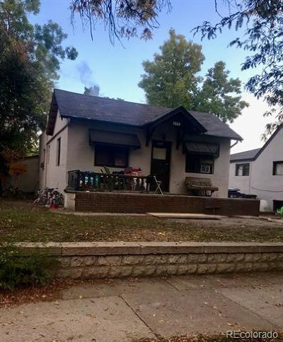 Denver Single Family Home Active: 2551 West 39th Avenue