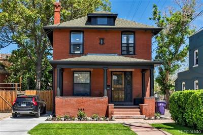 Cole, Cole And Whittier, Cole/Whittier, Whittier Single Family Home Active: 1319 East 23rd Avenue