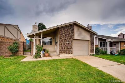 Northglenn Single Family Home Active: 11749 Grant Street