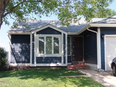 Thornton Single Family Home Under Contract: 12695 Bellaire Street