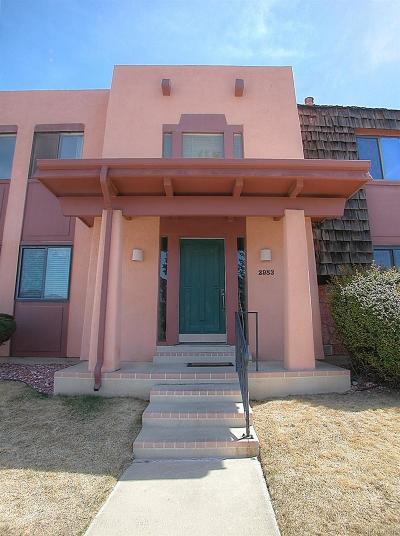Colorado Springs Condo/Townhouse Active: 2983 Mesa Road #C