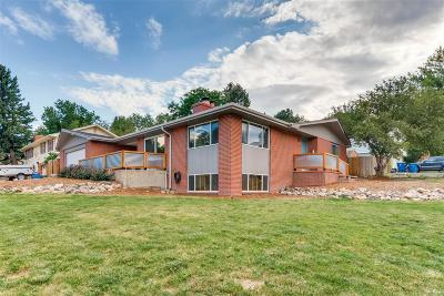 Aurora, Centennial, Denver, Englewood, Greenwood Village, Arvada, Broomfield, Edgewater, Evergreen, Golden, Lakewood, Littleton, Westminster, Wheat Ridge Single Family Home Active: 13408 West Mississippi Court