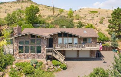 Golden Single Family Home Under Contract: 14271 Foothill Lane