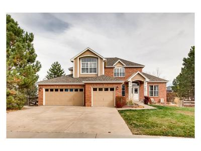 Castle Pines North Single Family Home Active: 535 Leicester Lane