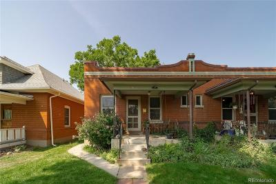 Denver Condo/Townhouse Active: 3425 Meade Street