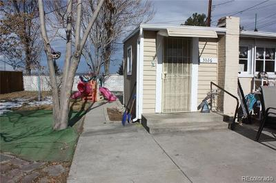 Denver Single Family Home Active: 3026 Regis Boulevard