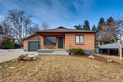 Wheat Ridge Single Family Home Under Contract: 3945 Cody Street