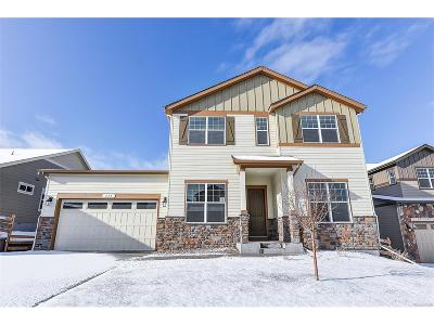 Castle Rock Single Family Home Active: 443 Sage Grouse Circle