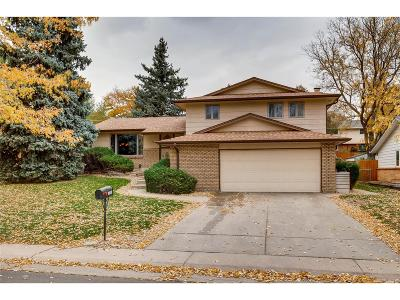 Wheat Ridge Single Family Home Under Contract: 11655 West 35th Avenue