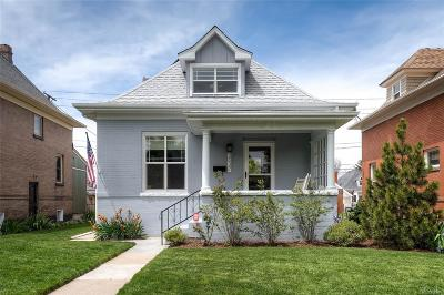 Denver Single Family Home Under Contract: 3037 North Gaylord Street