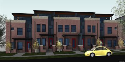 Cheeseman & Moffat, Cheeseman Park, Cheesman Park Condo/Townhouse Active: 1372 North Vine Street #Parcel 8