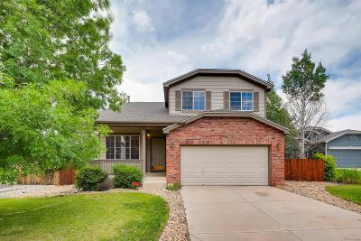Castle Rock CO Single Family Home Under Contract: $429,900