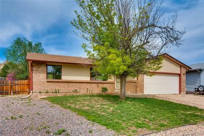 Broomfield Single Family Home Under Contract: 12881 South Princess Circle