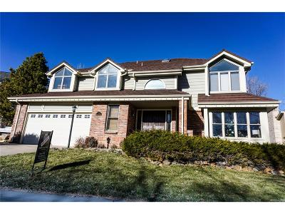 Littleton CO Single Family Home Under Contract: $620,000