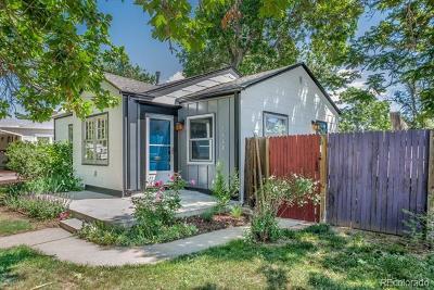 Denver Single Family Home Active: 4430 Shoshone Street