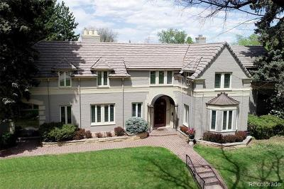 Denver Single Family Home Active: 4501 East 6th Avenue Parkway