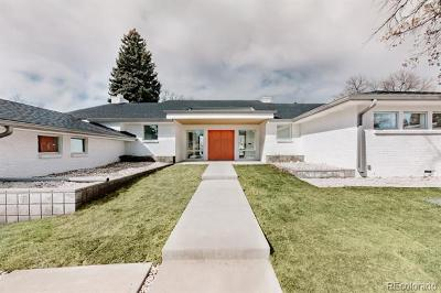 Denver Single Family Home Active: 225 South Clermont Street