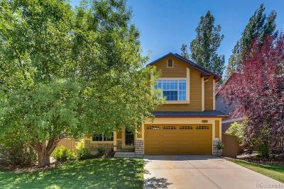 Castle Rock Single Family Home Active: 4434 West Antelope Run Court