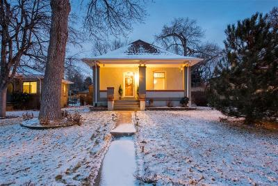Denver CO Single Family Home Active: $519,900