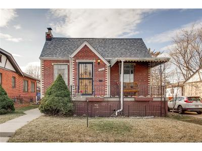 Denver Single Family Home Active: 3707 Zenobia Street