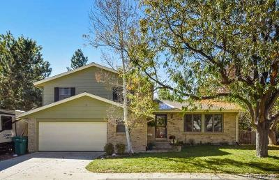 Arvada Single Family Home Active: 6625 Cole Court