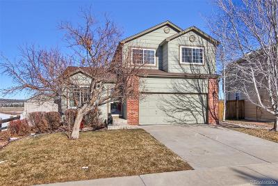 Castle Rock Single Family Home Active: 3741 Morning Glory Drive