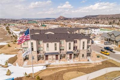 Castle Rock Condo/Townhouse Active: 1588 Castle Creek Circle