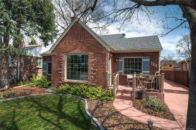 Denver Single Family Home Under Contract: 760 Ivy Street