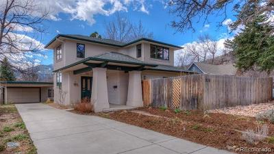Boulder Single Family Home Active: 806 Hawthorn Avenue
