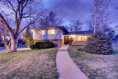 Centennial Single Family Home Under Contract: 5685 East Fair Avenue