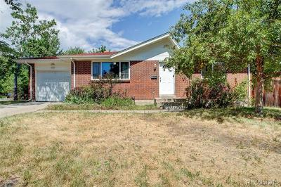 Arvada Single Family Home Active: 6663 Gray Street