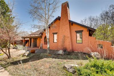 Manitou Springs Single Family Home Under Contract: 17 Stover Lane