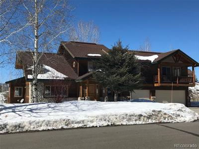 Steamboat Springs Single Family Home Active: 2020 Bear Drive