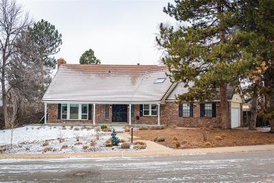 Denver Single Family Home Active: 3651 South Pontiac Way
