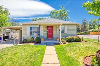 Denver Single Family Home Active: 1960 West 47th Avenue