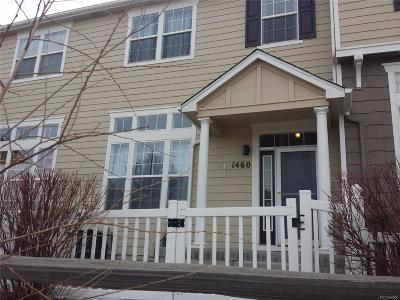 Castle Rock Condo/Townhouse Under Contract: 1460 Nemrick Place