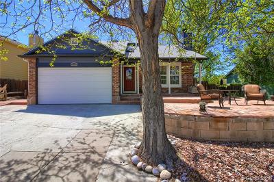Centennial CO Single Family Home Under Contract: $349,900