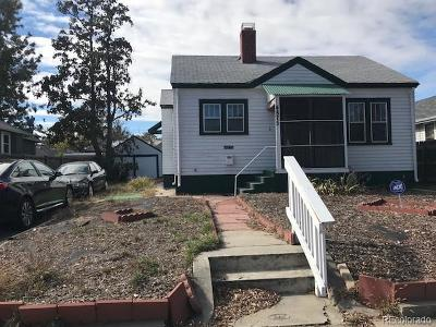 Denver Single Family Home Active: 4875 Irving Street