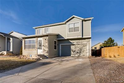 Colorado Springs Single Family Home Under Contract: 6680 Bear Tooth Drive