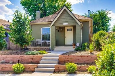 Denver Single Family Home Active: 1331 Osceola Street
