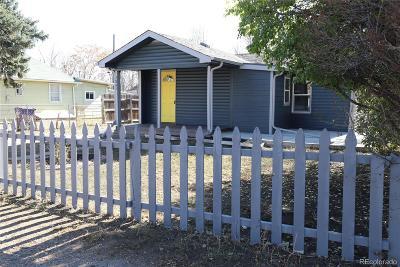 Denver Single Family Home Active: 2842 West Short Place