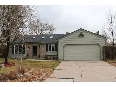 Castle Rock Single Family Home Under Contract: 1202 Butterfield Lane