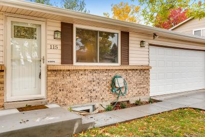 Littleton Single Family Home Active: 115 Olympus Circle