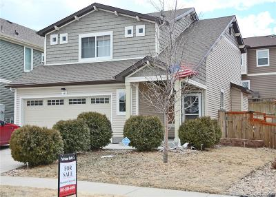 Castle Rock Single Family Home Under Contract: 1883 Morningview Lane