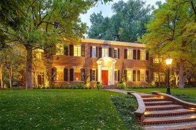 Denver CO Single Family Home Active: $4,700,000