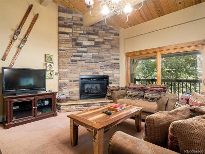 Steamboat Springs Condo/Townhouse Active: 2355 Apres Ski Way #106