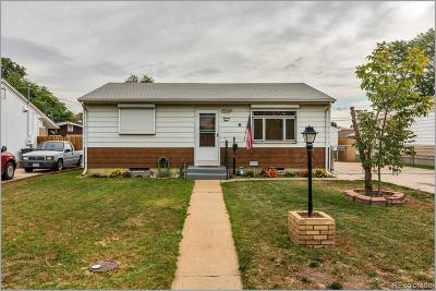 Commerce City Single Family Home Under Contract: 7080 Clermont Street