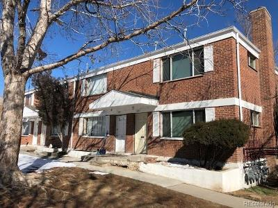 Denver CO Condo/Townhouse Active: $125,000