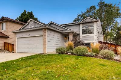 Highlands Ranch Single Family Home Under Contract: 9343 Weeping Willow Place